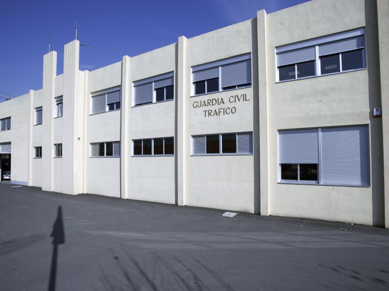 Edificio Guardia Civíl Tráfico Oleiros - A Coruña