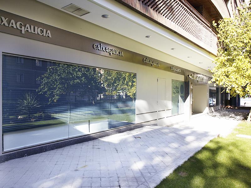 Oficina Caixa Galicia - Alberto Aguilera Madrid